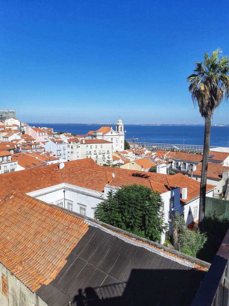 The top 5 places with the best view in Lisbon by coffee and a view